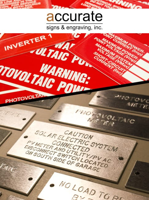 Accurate-Signs-and-Engraving-Solar-Tags-Electrical-Tags-Signage-Awards-Plaques